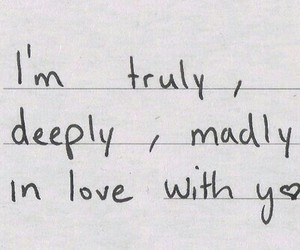 love, madly, and truly image