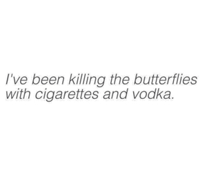 butterfly and vodka image