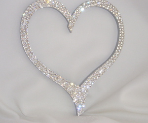 heart, love, and sparkle image