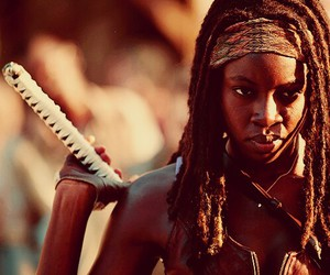 the walking dead, michonne, and twd image