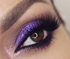 colors, make up, and eyes image