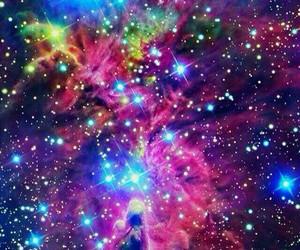 stars, cosmos, and galaxy image