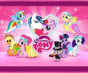 my little pony and wedding image