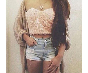 fashion, hipster, and petals image