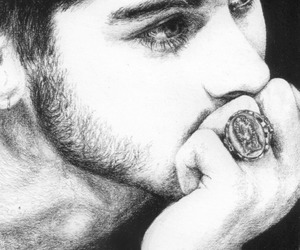 art, drawing, and zayn malik image
