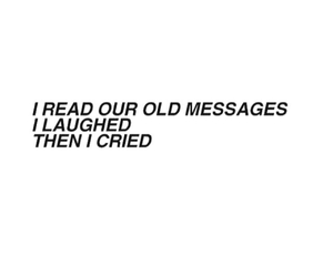 cry, laugh, and messages image