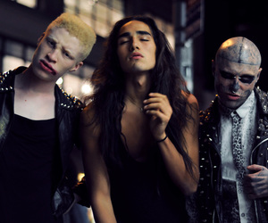 shaun ross, rick genest, and willy cartier image