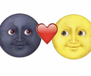 love, heart, and emoji image
