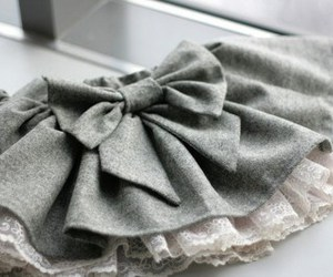 fashion, skirt, and bow image