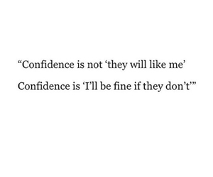 confidence, life, and love image