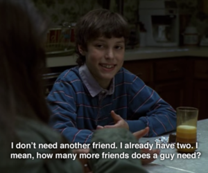 freaks and geeks, friends, and quotes image