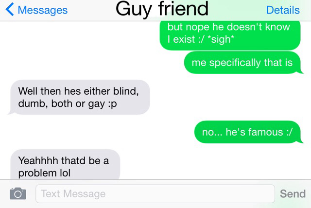 I love a famous person lol on We Heart It