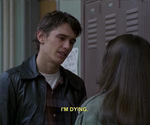 90s, freaks and geeks, and james franco image