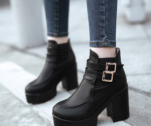 ankle, booties, and toe image