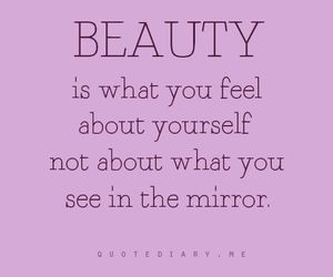 quote and beauty image