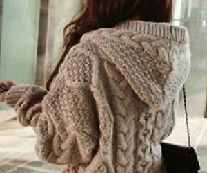 sweater, winter, and comfy image