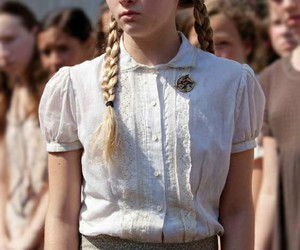 prim, hunger games, and the hunger games image