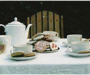 tea, vintage, and eat me image