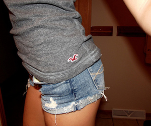 girl, jeans, and legs image