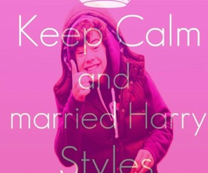 keep calm, Harry Styles, and one direction image
