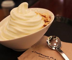 food, ice cream, and dessert image