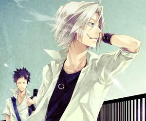 anime, katekyo hitman reborn, and Yamamoto image