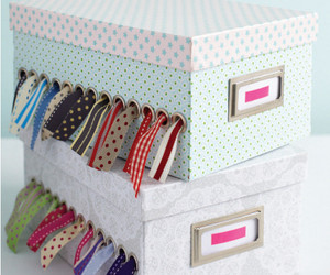 box, diy, and organizer image