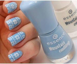 blue, essence, and fashion image