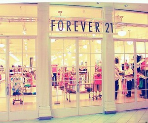 forever 21, clothes, and shopping image