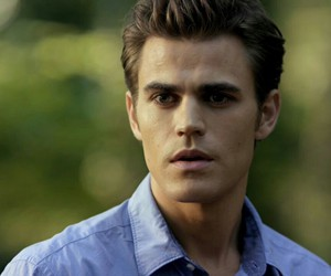 stefan salvatore, tvd, and paul wesley image