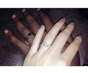 couple, interracial, and instagram image