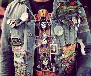 rock, Guns N Roses, and jacket image