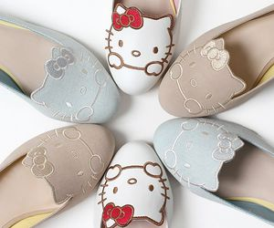 shoes and hello kitty image