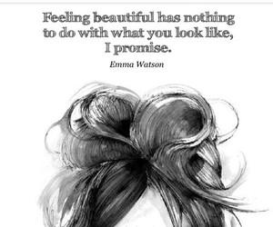 emma watson, quote, and beauty image