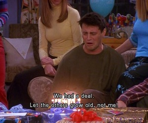 subtitles, friends, and Joey image