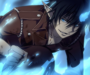ao no exorcist, anime, and blue exorcist image