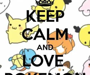 pokemon, keep calm, and pikachu image