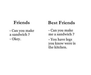 boy, sandwich, and bestfriends image