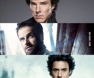 elementary, robert downey jr, and sherlock holmes image