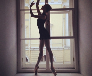 ballet, black, and dance image