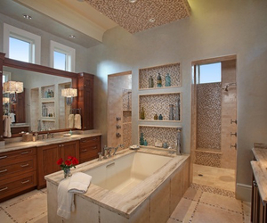 bathroom, design, and good image