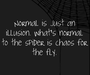 illusion and normal image