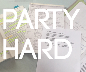 hard, history, and party image