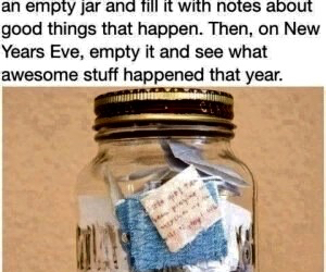 new year, jar, and notes image