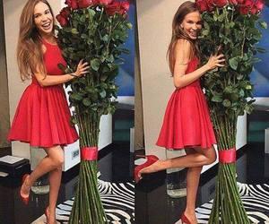 girl, fashion, and rose image