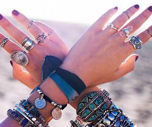 fashion, rings, and bracelet image