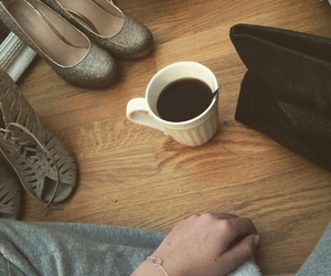 makeup, morning, and shoes image