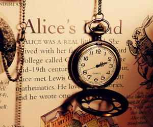 alice, book, and alice in wonderland image