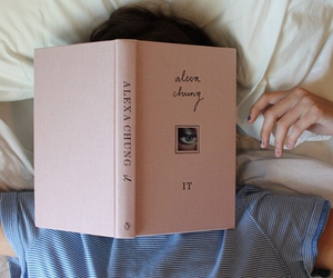 book, pink, and aesthetic image