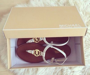 gold, Michael Kors, and white image